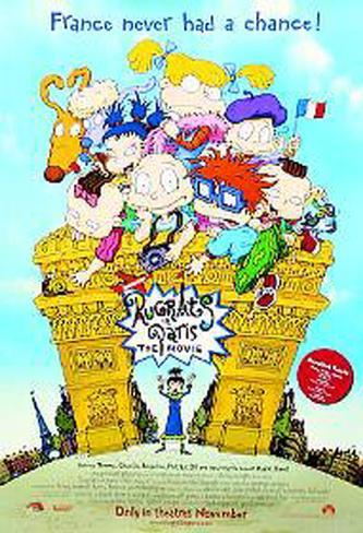 Rugrats In Paris Originalposter