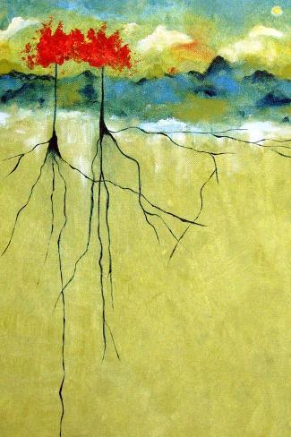 Deep Roots Kunstdruck