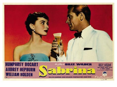 Sabrina, 1954 Kunstdruck