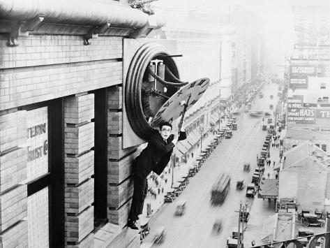 Safety Last, 1923 Fotografie-Druck
