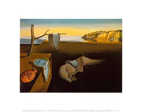 die best ndigkeit der erinnerung ca 1931 kunstdrucke von salvador dal bei. Black Bedroom Furniture Sets. Home Design Ideas