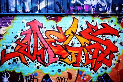 Graffiti tag thats red fotoprint van sammyc bij - Prenom en tag ...