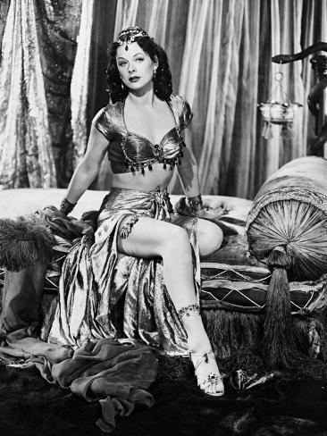 Samson and Delilah, 1949 Fotografie-Druck