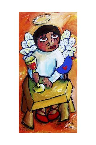 An Angel at My Table Giclée-Druck