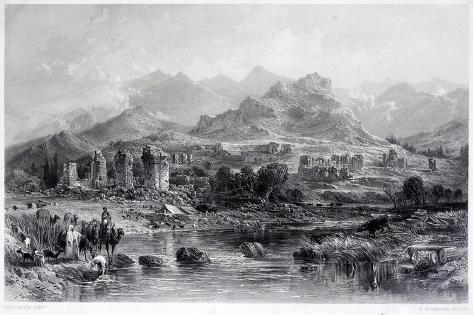 Sardis or Sardes, Ancient City Giclée-Druck