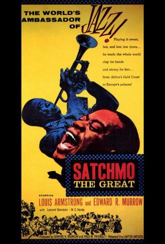 Satchmo the Great Poster