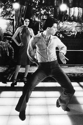 Saturday Night Fever, Fran Drescher, John Travolta, 1977 Foto