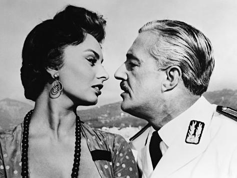 Scandal in Sorrento, 1955 Fotografie-Druck
