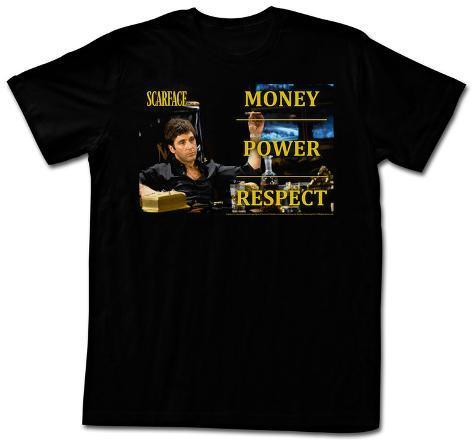 Scarface - Monpowres T-Shirt
