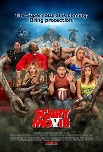 Scary Movie 5 Movie Poster Neuheit