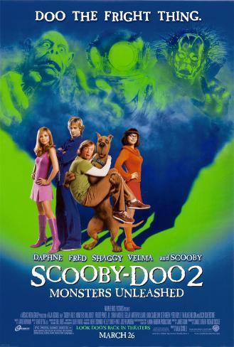 Scooby-Doo 2 Dubbelzijdige poster