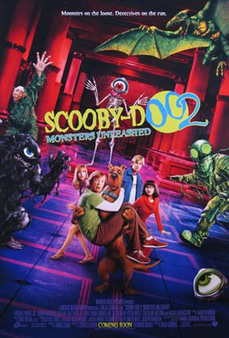 Scooby-Doo 2 Doppelseitiges Poster