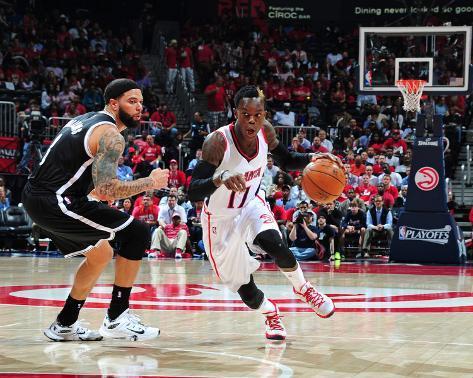 Brooklyn Nets v Atlanta Hawks - Game Two Foto