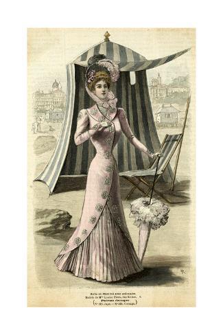 Seaside Dress 1899 Giclée-Druck