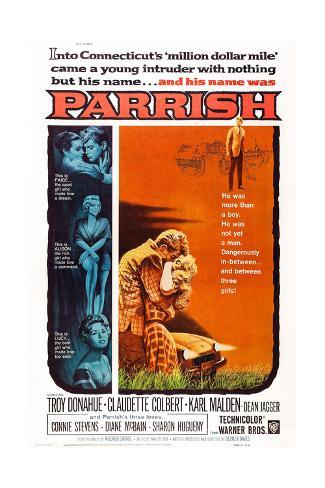 Sein Name war Parrish Kunstdruck