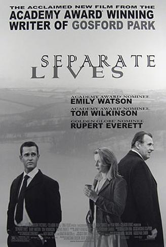 Separate Lives Originalposter