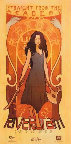 Serenity Movie Firefly Les Femmes River Tam Poster Print Mini-Poster