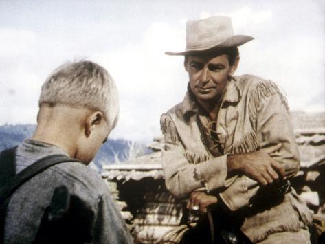 Shane, Brandon De Wilde, Alan Ladd, 1953 Foto