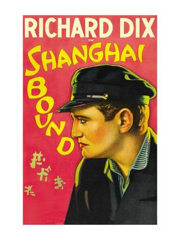 Shanghai Bound Kunstdruck