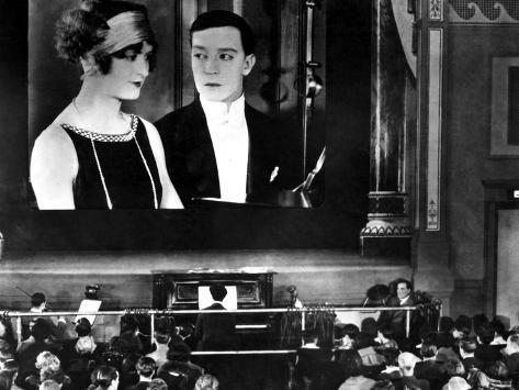 Sherlock Jr., Kathryn McGuire, Buster Keaton, 1924, Movie Theater Foto