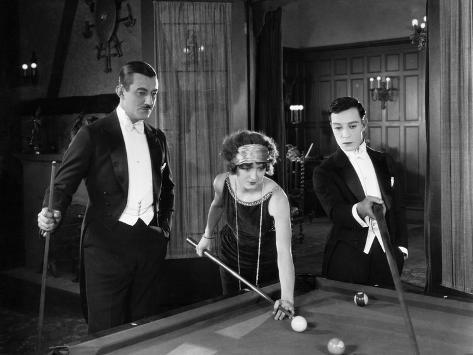 Sherlock Jr., Ward Crane, Kathryn McGuire, Buster Keaton, 1924 Foto