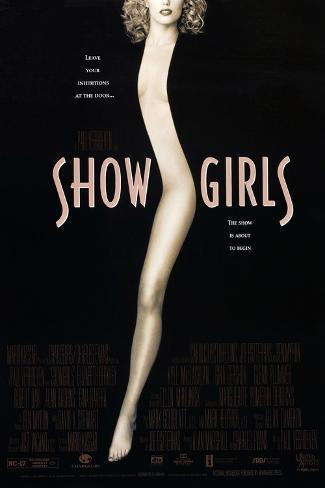 Showgirls, Elizabeth Berkley, 1995. © United Artists/courtesy Everett Collection Kunstdruck
