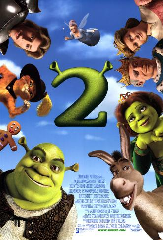 Shrek2– Der tollkühne Held kehrt zurück Doppelseitiges Poster