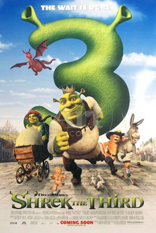 Shrek der Dritte Poster bei AllPosters.de
