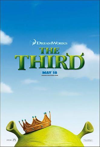 Shrek The Third Originalposter
