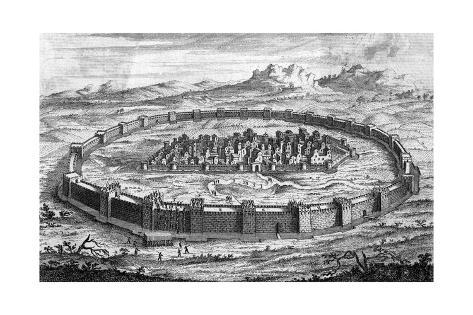 Siege of Plataea Giclée-Druck