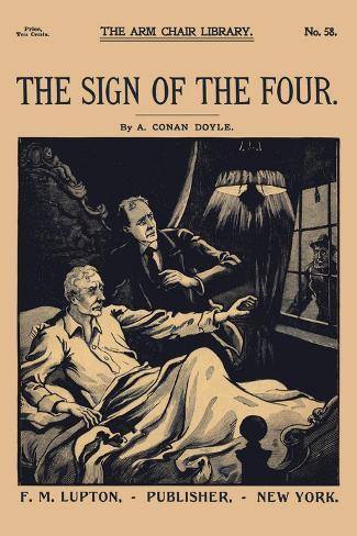 Sign of Four I Wandtattoo