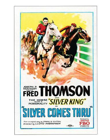 Silver Comes Through - 1927 Giclée-Druck