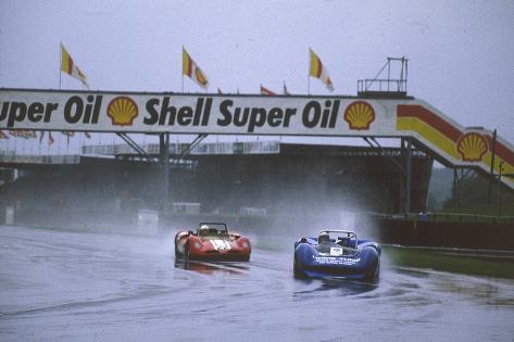 Silverstone Motor Race Fotografie-Druck