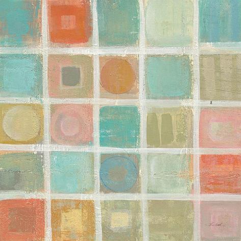 Sea Gl Mosaic Tile Ii Kunstdruk