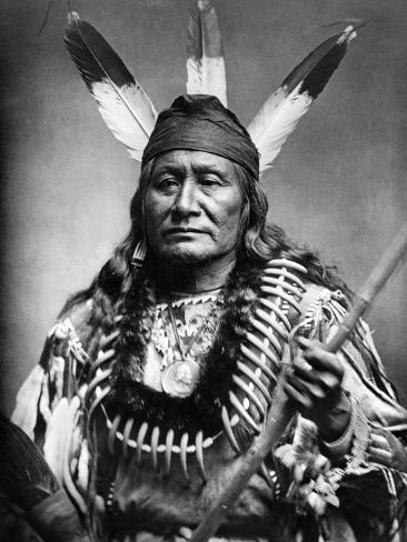Sioux Man, C1890 Fotografie-Druck