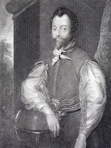 Sir Francis Drake Giclée-Druck