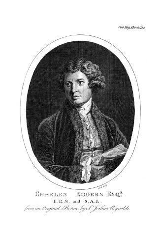 Charles Rogers Giclée-Druck