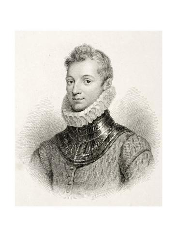 Sir Philip Sydney Giclée-Druck