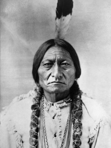Sitting Bull (1834-1890) Fotografie-Druck