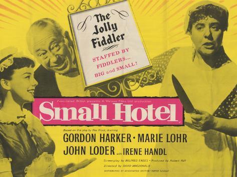 Small Hotel Kunstdruck