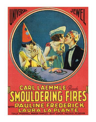 Smouldering Fires - 1925 Giclée-Druck