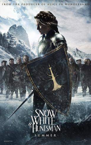 Snow White and the Huntsman Doppelseitiges Poster