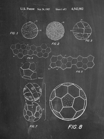 Soccer Ball Patent, How To Make Kunstdruck