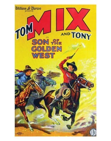 Son Of The Golden West - 1928 Giclée-Druck