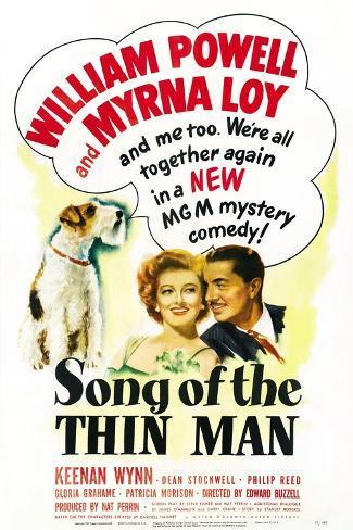 Song of the Thin Man Kunstdruck