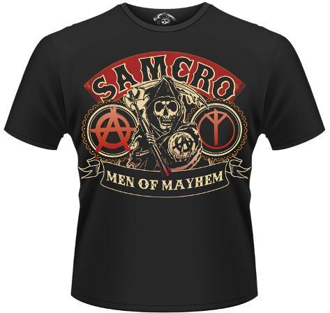 sons of anarchy samcro men of mayhem t shirts bei. Black Bedroom Furniture Sets. Home Design Ideas