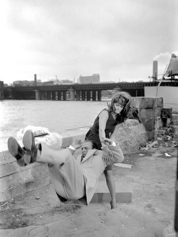 Sophia Loren Filming