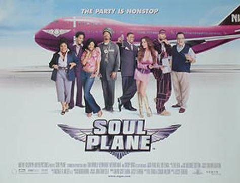Soul Plane (U.K. Quad) Poster