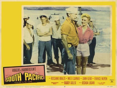 South Pacific, 1959 Kunstdruck