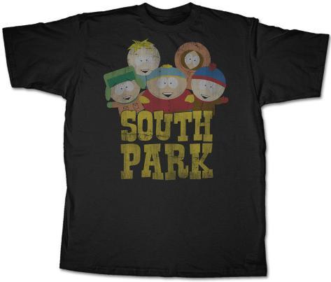 South Park - Old South Park T-Shirt
